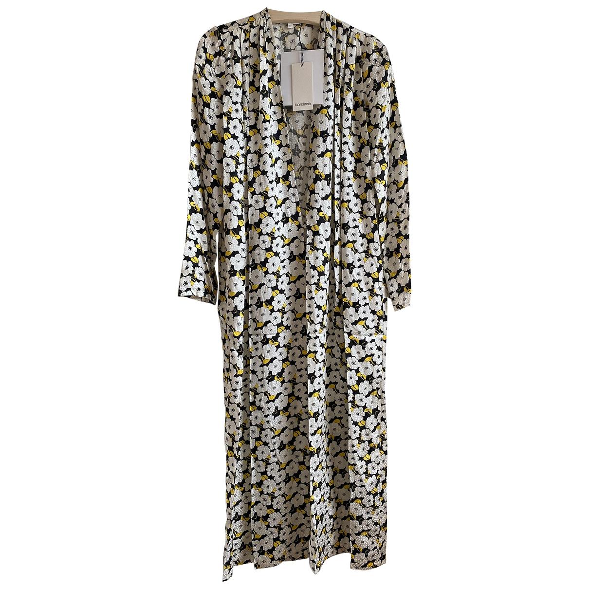 Maxi vestido de Seda Roseanna