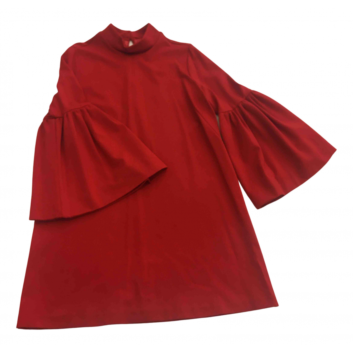 Aniye By \N Kleid in  Rot Polyester