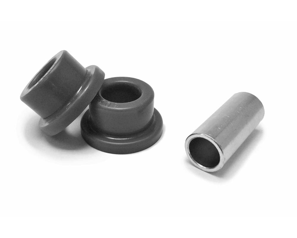 Steinjager J0012326 3/8 Bore Poly Bushing Replacement Kit 1.50 Wide Fits 1.125 ID Tube Red Poly Bushings