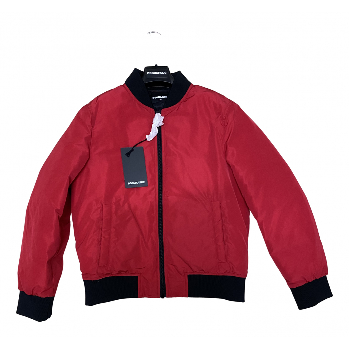 Dsquared2 \N Jacke, Maentel in  Rot Wolle