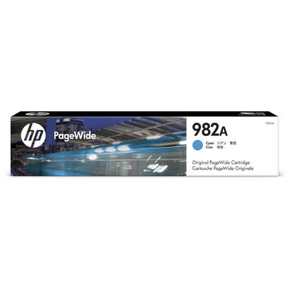 HP 982A T0B23A Original Cyan PageWide Ink Cartridge
