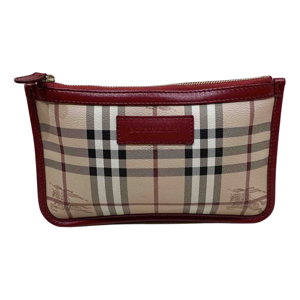 Burberry \N Clutch in Leinen