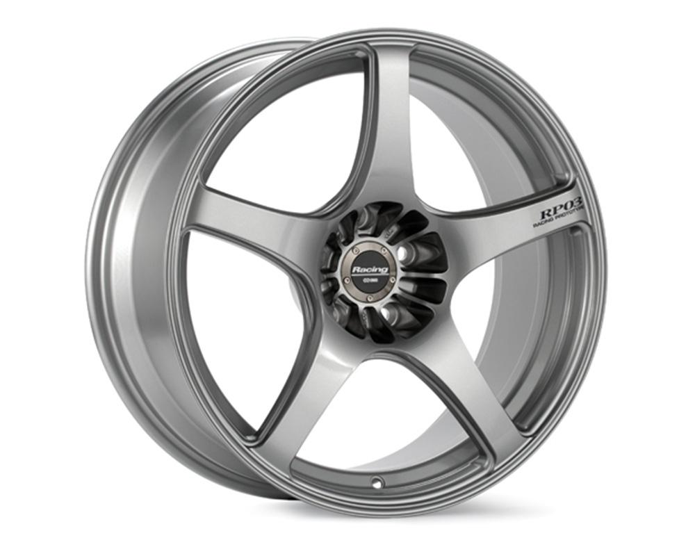Enkei RP03 Wheel Racing Series Silver 19x8.5 5x120 12mm