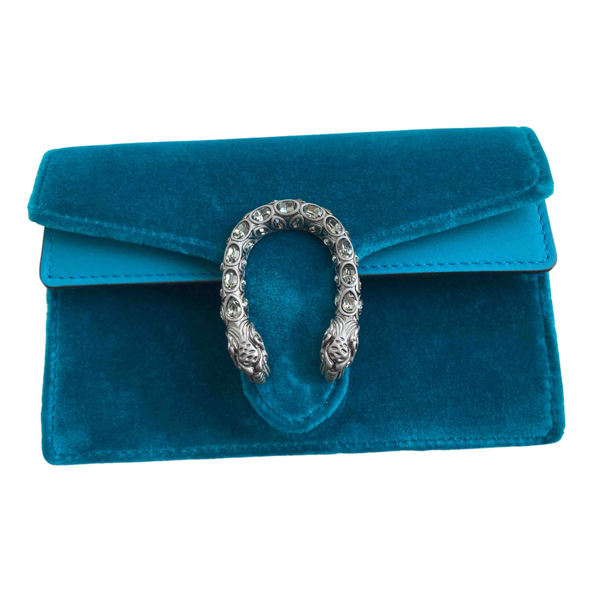 Gucci Dionysus Handtasche in  Gruen Samt