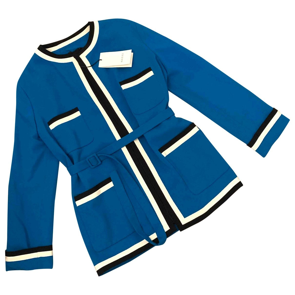 Gucci \N Blue jacket for Women 38 IT