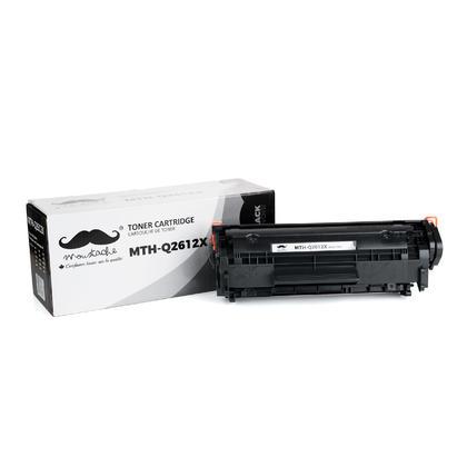 Compatible HP LaserJet 1022nw cartouche de toner noire à rendement élevé de Moustache