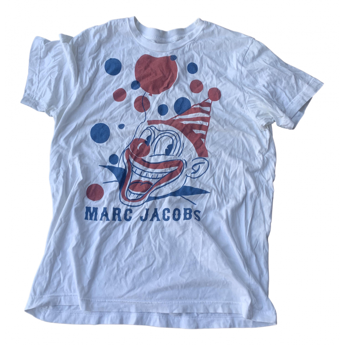 Marc By Marc Jacobs \N White Cotton T-shirts for Men L International