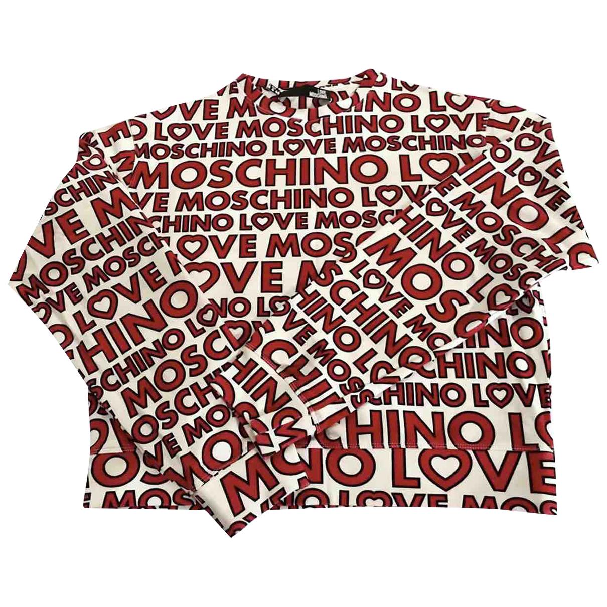 Moschino Love - Top   pour femme en coton - multicolore