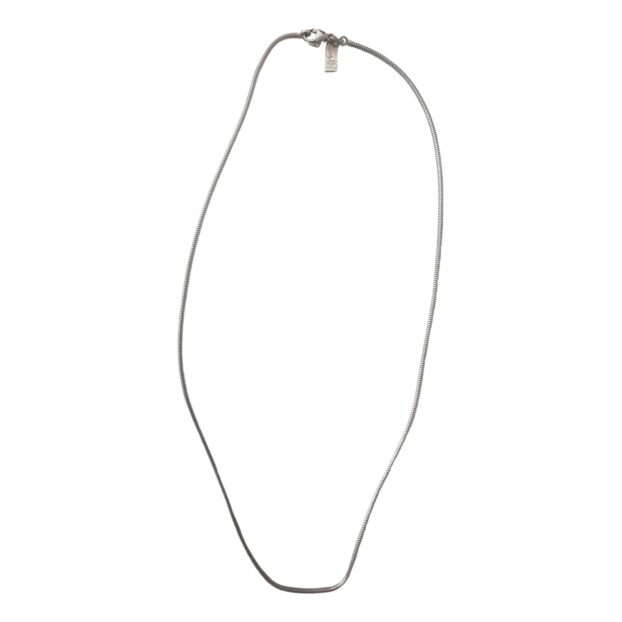Yves Saint Laurent \N Silver Silver necklace for Women \N
