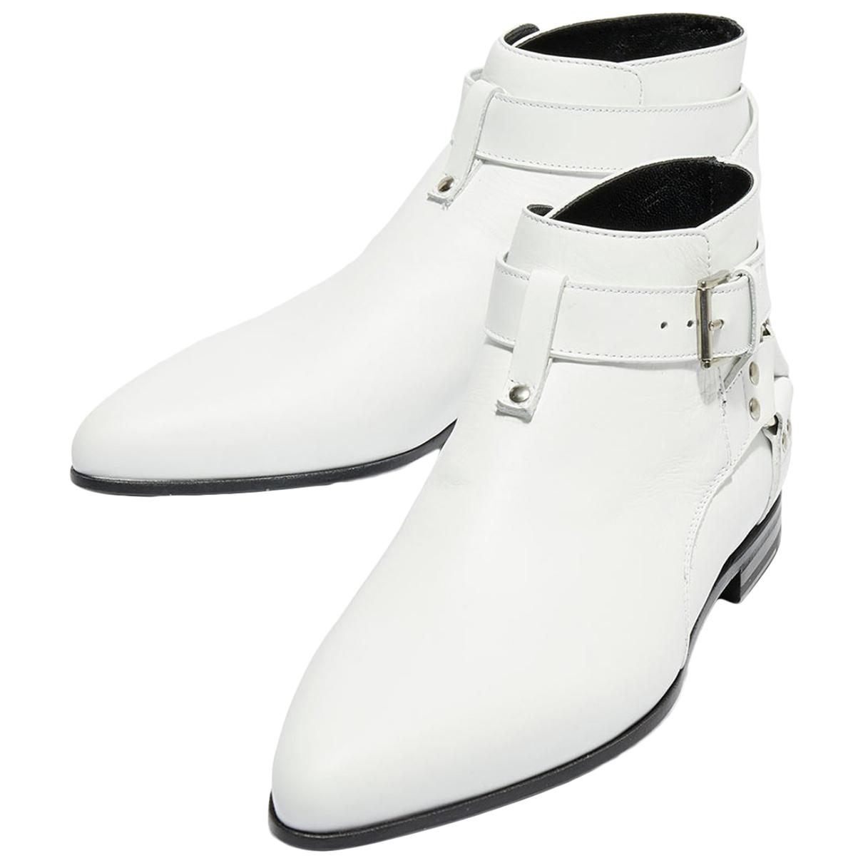 Botas de Cuero Galliano