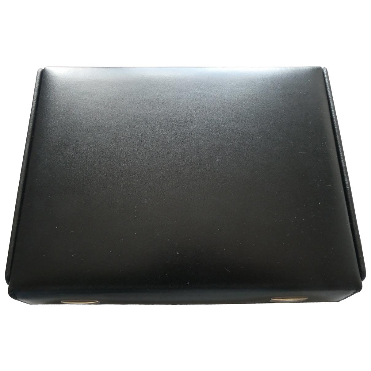S.t. Dupont - Objets & Deco   pour lifestyle en cuir - noir