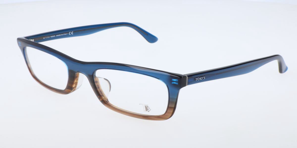 TODS TO5072 17A Men's Glasses Silver Size 50 - Free Lenses - HSA/FSA Insurance - Blue Light Block Available