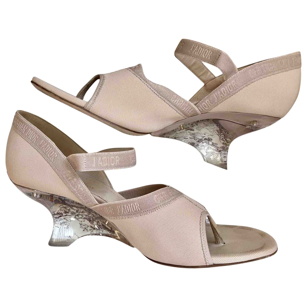 Dior \N Cloth Heels for Women 41.5 EU