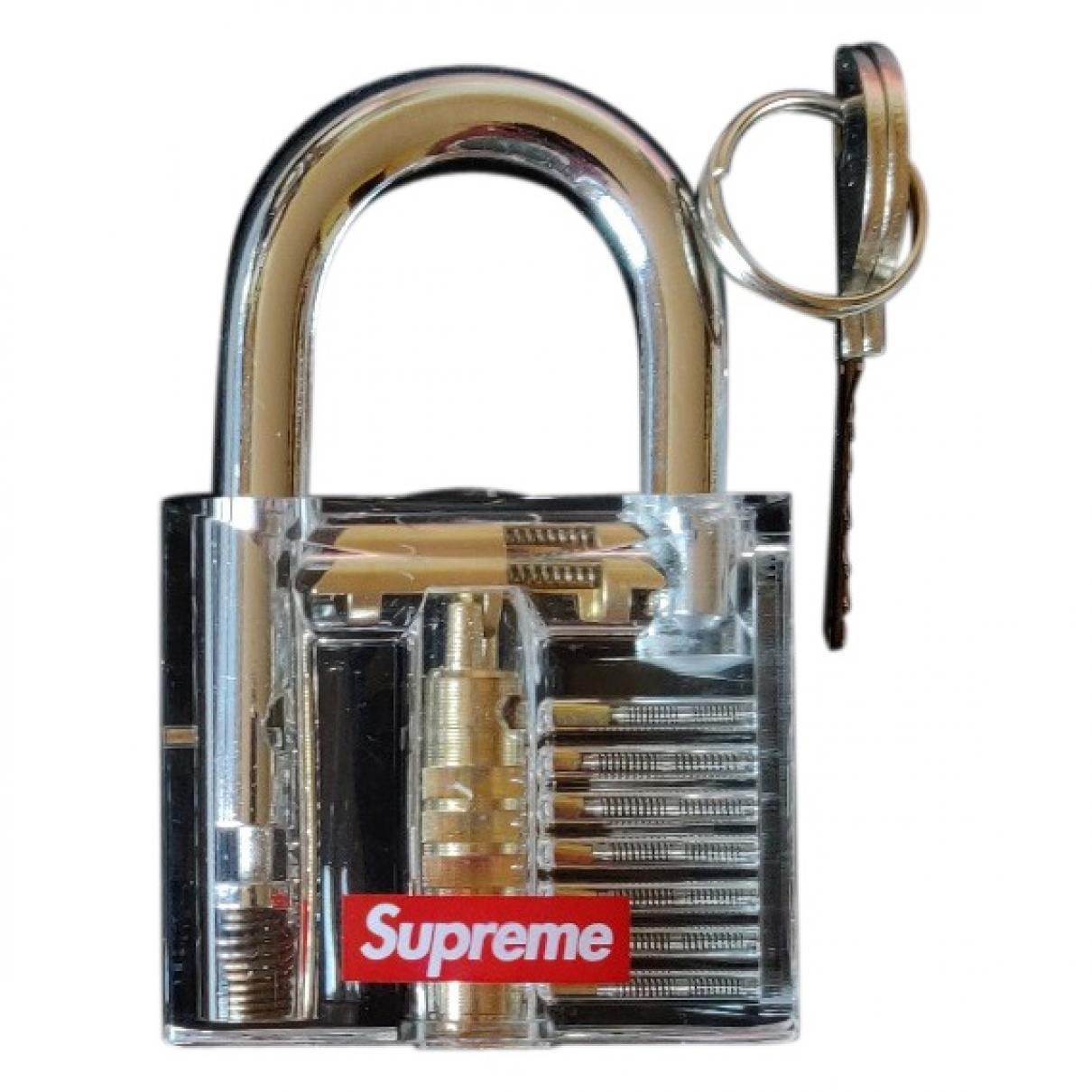 Supreme - Objets & Deco   pour lifestyle en acier - dore