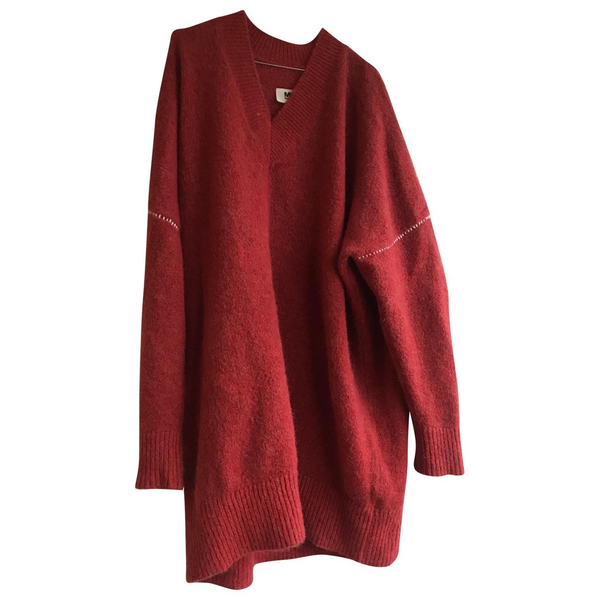 Mm6 \N Red Wool Knitwear for Women M International