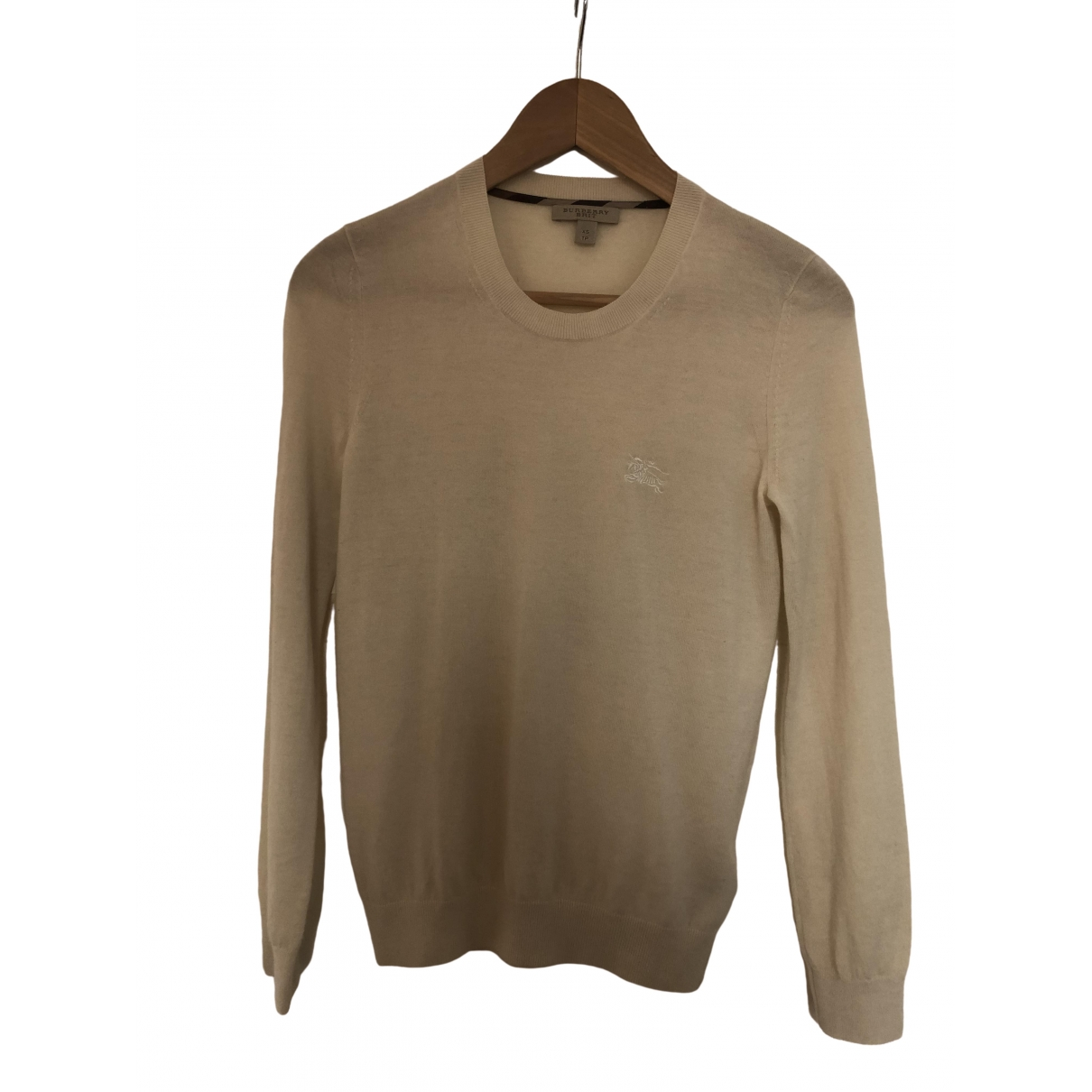 Burberry \N Beige Cashmere Knitwear for Women 6 UK