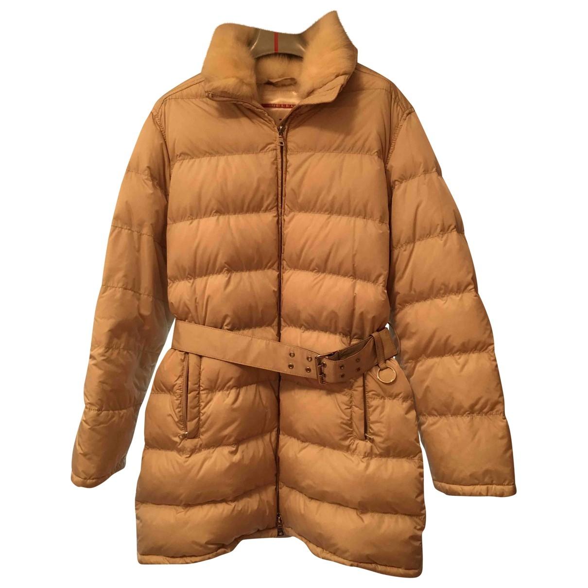 Prada - Manteau   pour femme - ecru