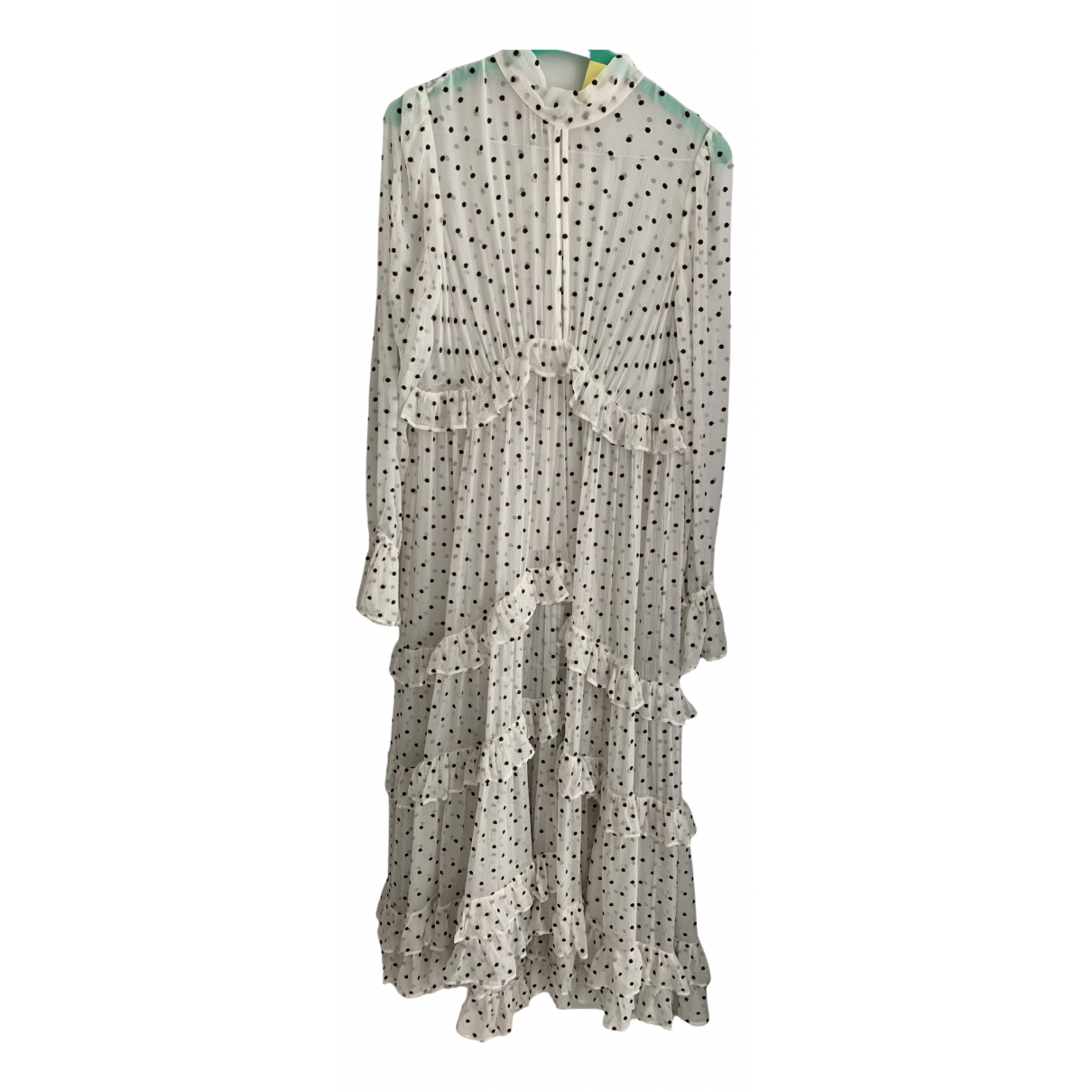 Zimmermann - Robe   pour femme en soie - blanc