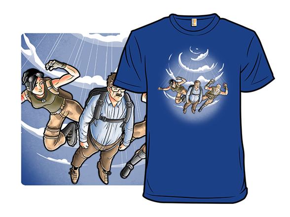 Falling Peter T Shirt