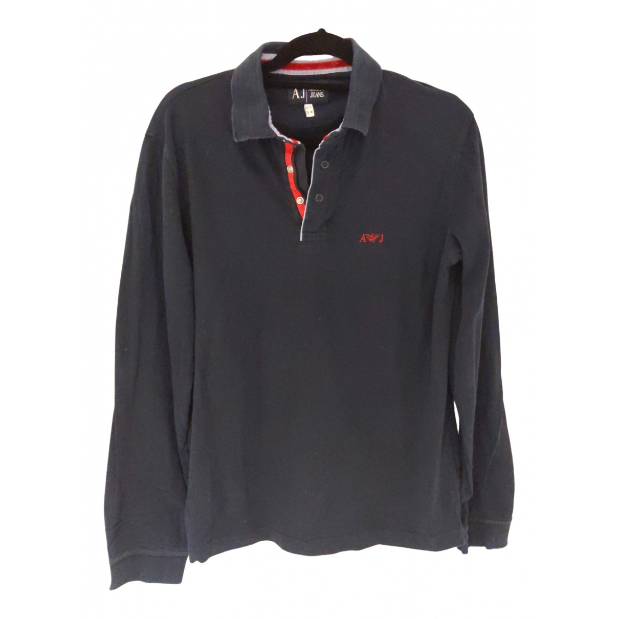 Armani Jeans \N Poloshirts in  Marine Baumwolle