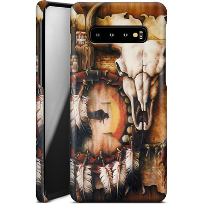 Samsung Galaxy S10 Plus Smartphone Huelle - Teri Rosario - Echo of the Buffalo von TATE and CO