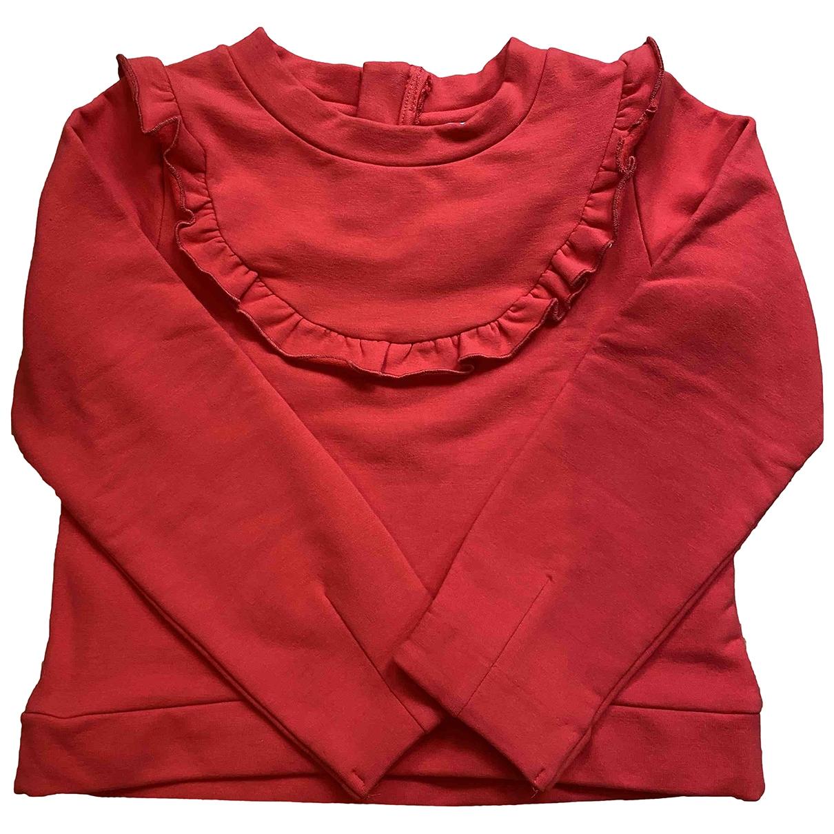 Jacadi - Pull   pour enfant en coton - rouge