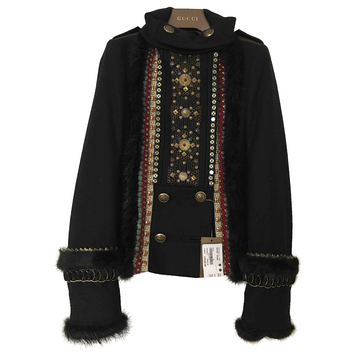 Gucci \N Navy Wool jacket for Women 38 IT