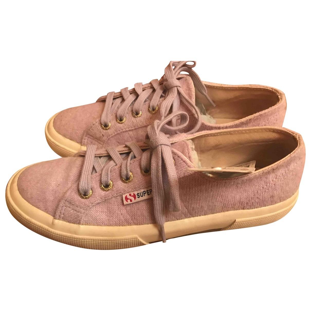 Superga \N Sneakers in  Lila Kautschuk