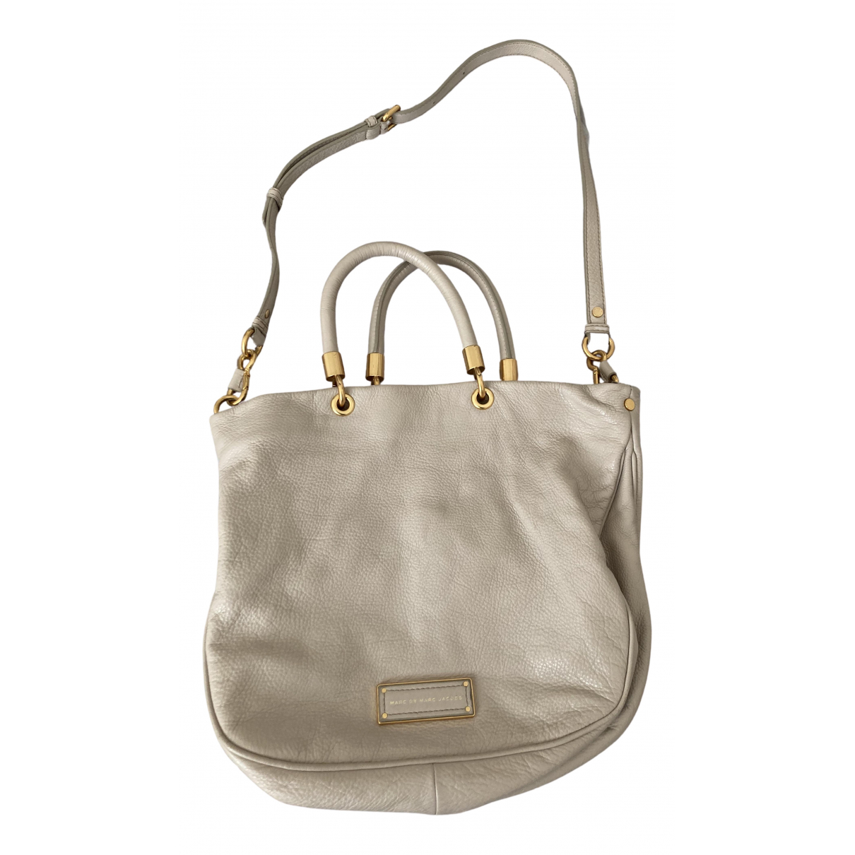 Marc By Marc Jacobs - Sac a main Too Hot to Handle pour femme en cuir - beige