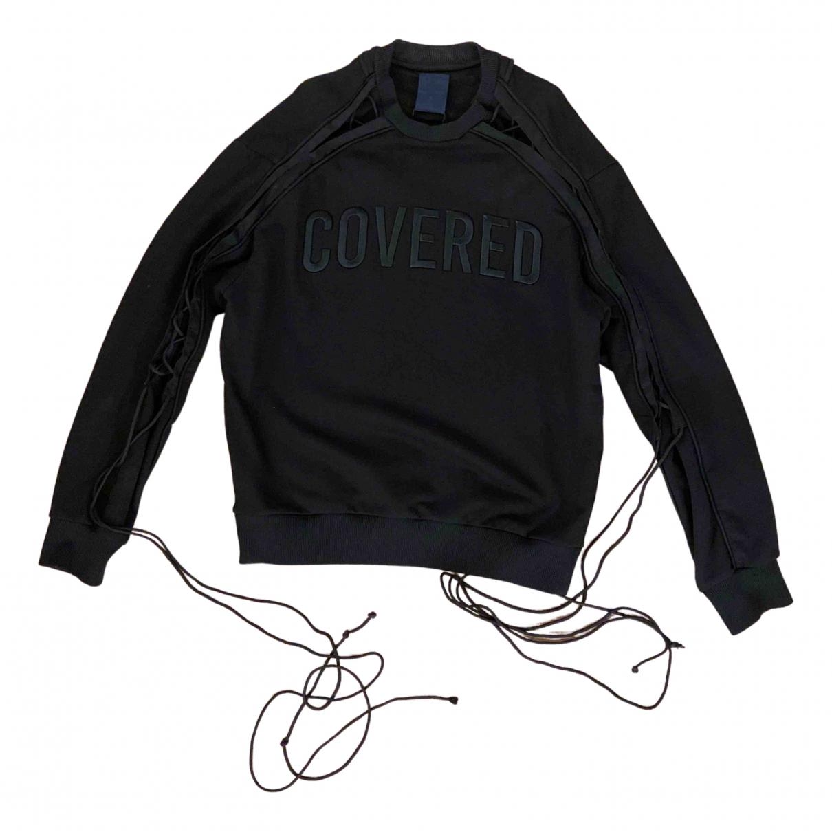 Juunj \N Pullover.Westen.Sweatshirts  in  Schwarz Baumwolle