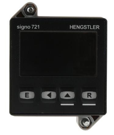 Hengstler SIGNO 721, 5 Digit, LCD, Digital Counter, 60kHz, 12 → 30 V dc