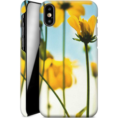 Apple iPhone XS Smartphone Huelle - Goldilocks von Joy StClaire