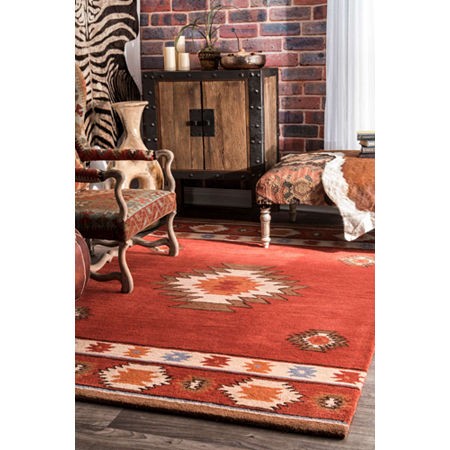 nuLoom Hand Tufted Shyla Rug, One Size , Multiple Colors