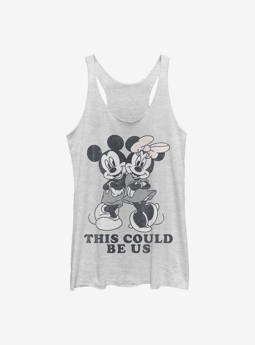 Disney Mickey Mouse Could Be Us Womens Tank Top
