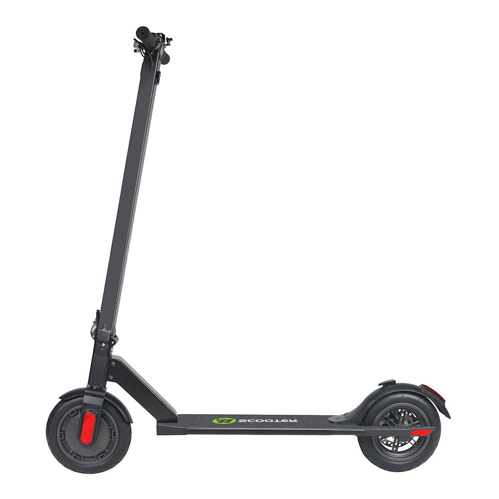 Megawheels S5 Portable Folding Electric Scooter 250W Motor 5.8Ah LG Battery 8.5 Inch Tire - Black