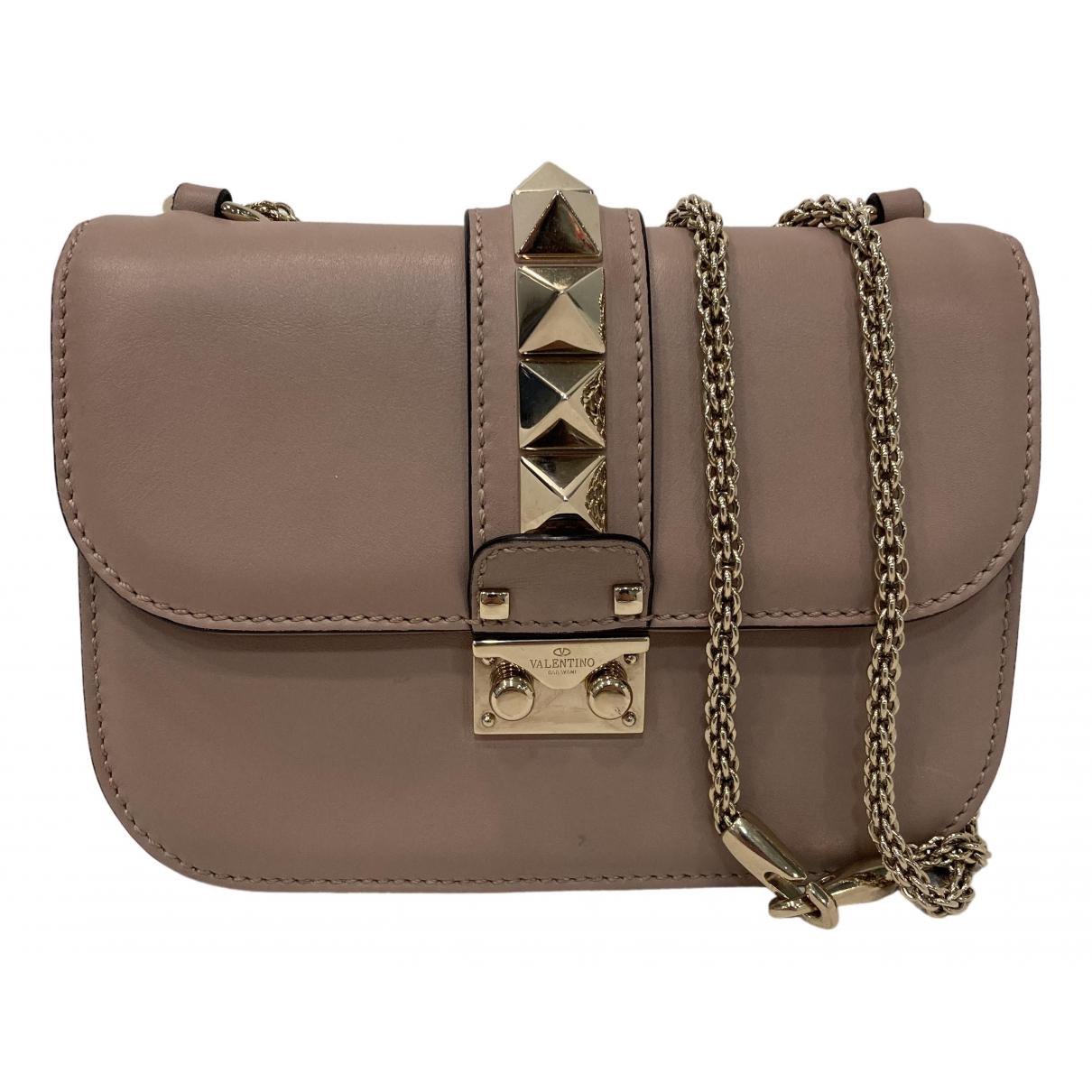 Valentino Garavani Glam Lock Handtasche in Leder