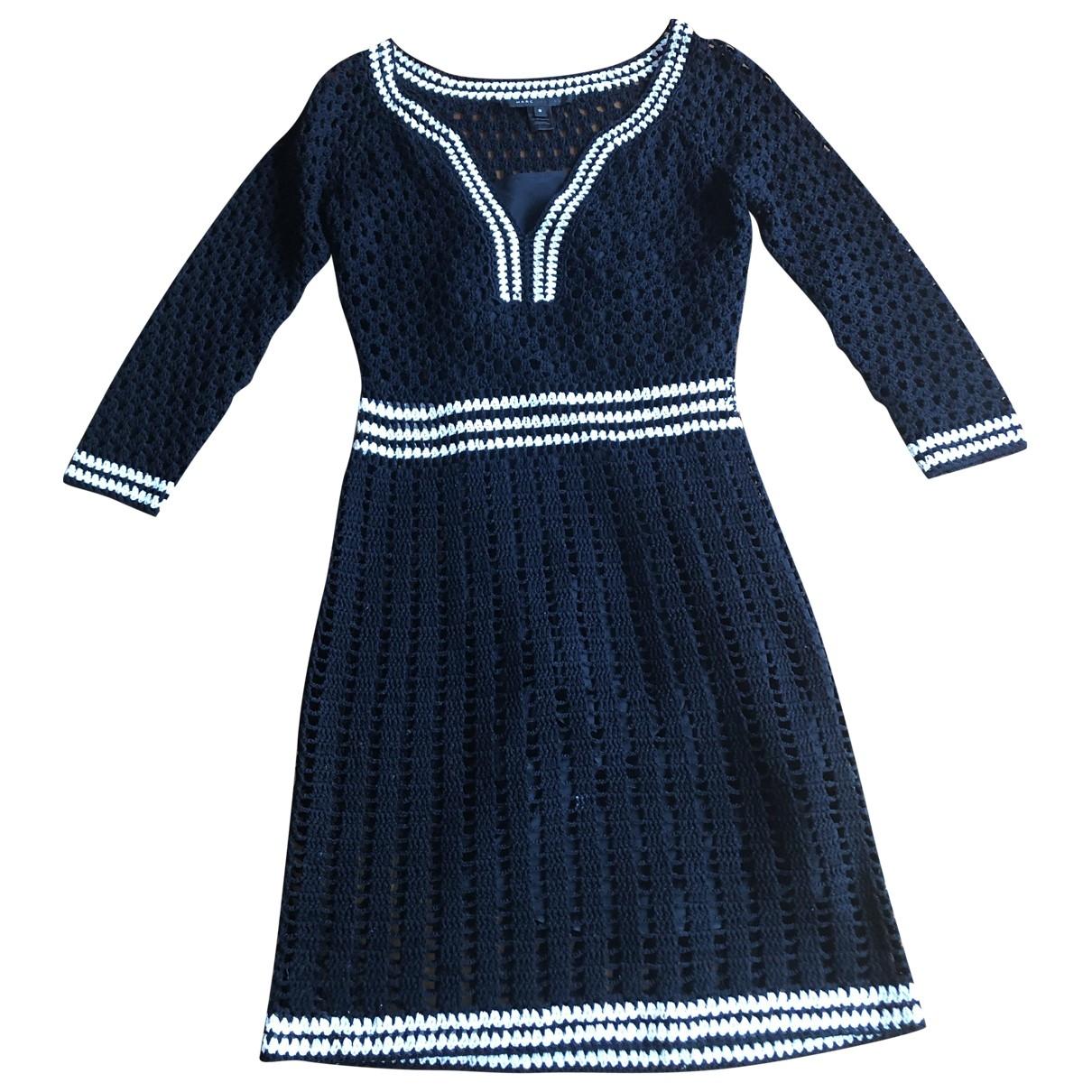 Marc Jacobs \N Kleid in  Schwarz Baumwolle