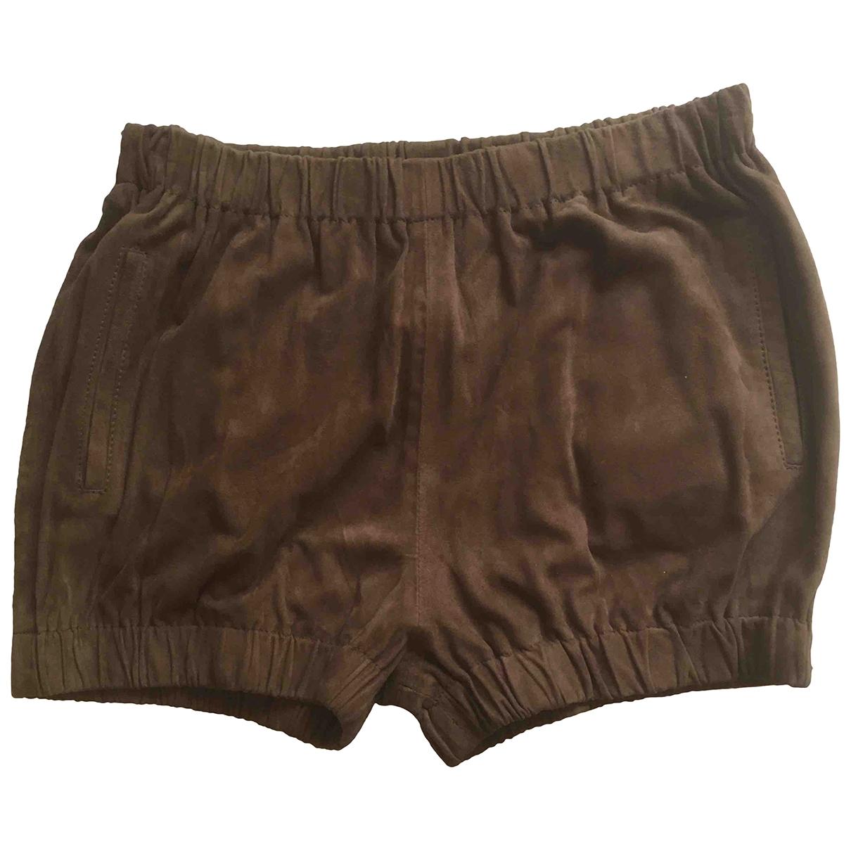 Mono corto de Cuero My Pants