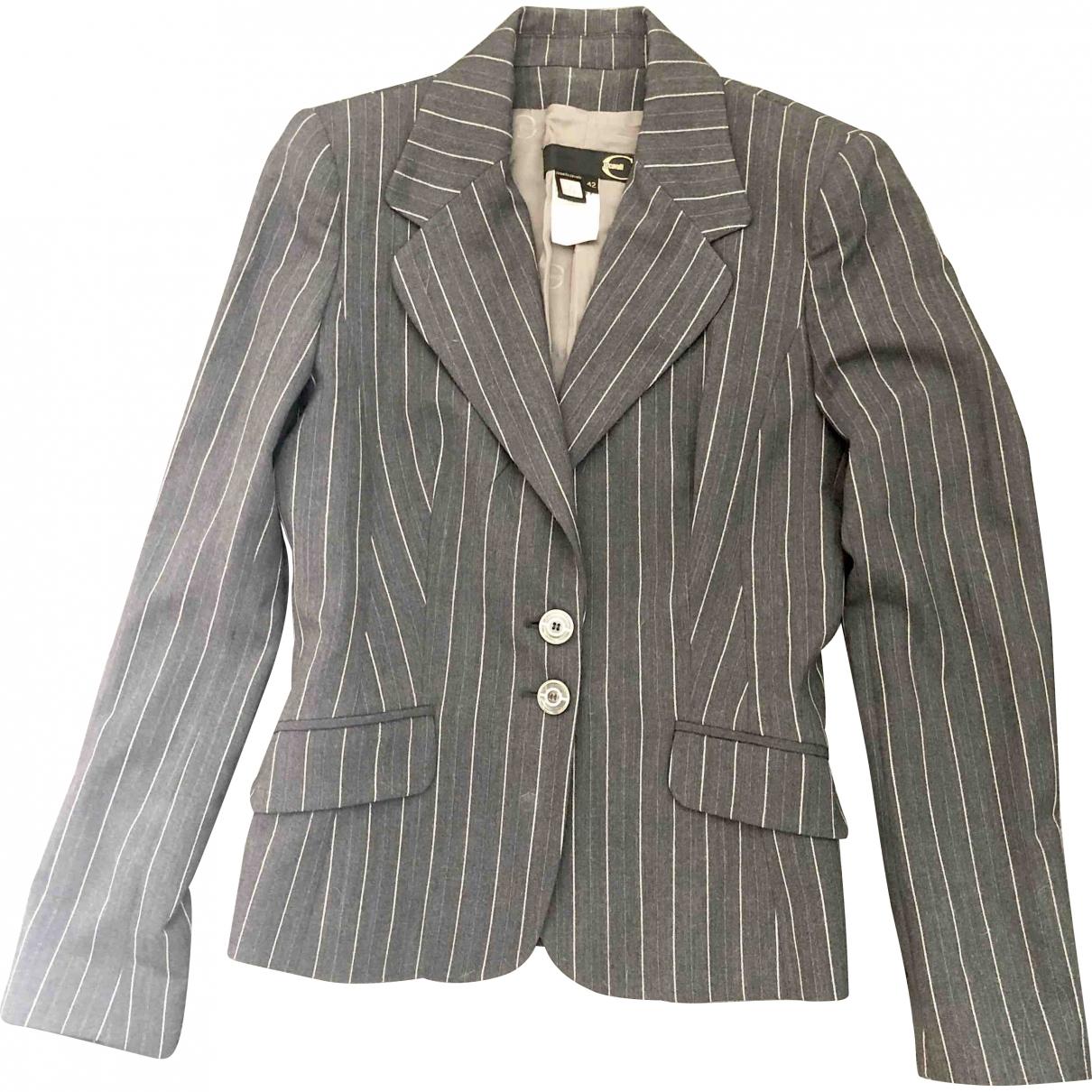 Just Cavalli \N Grey Wool jacket for Women 38 FR