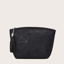 Tassel Charm Clutch Bag