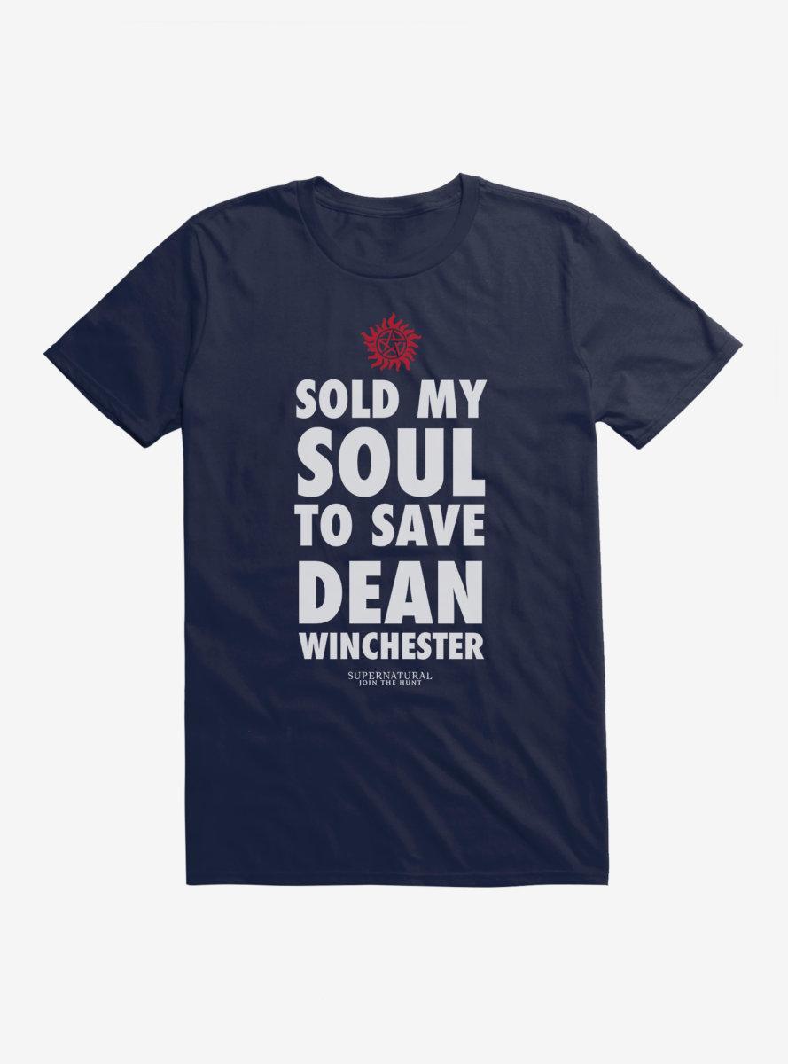 Supernatural Save Dean Winchester T-Shirt