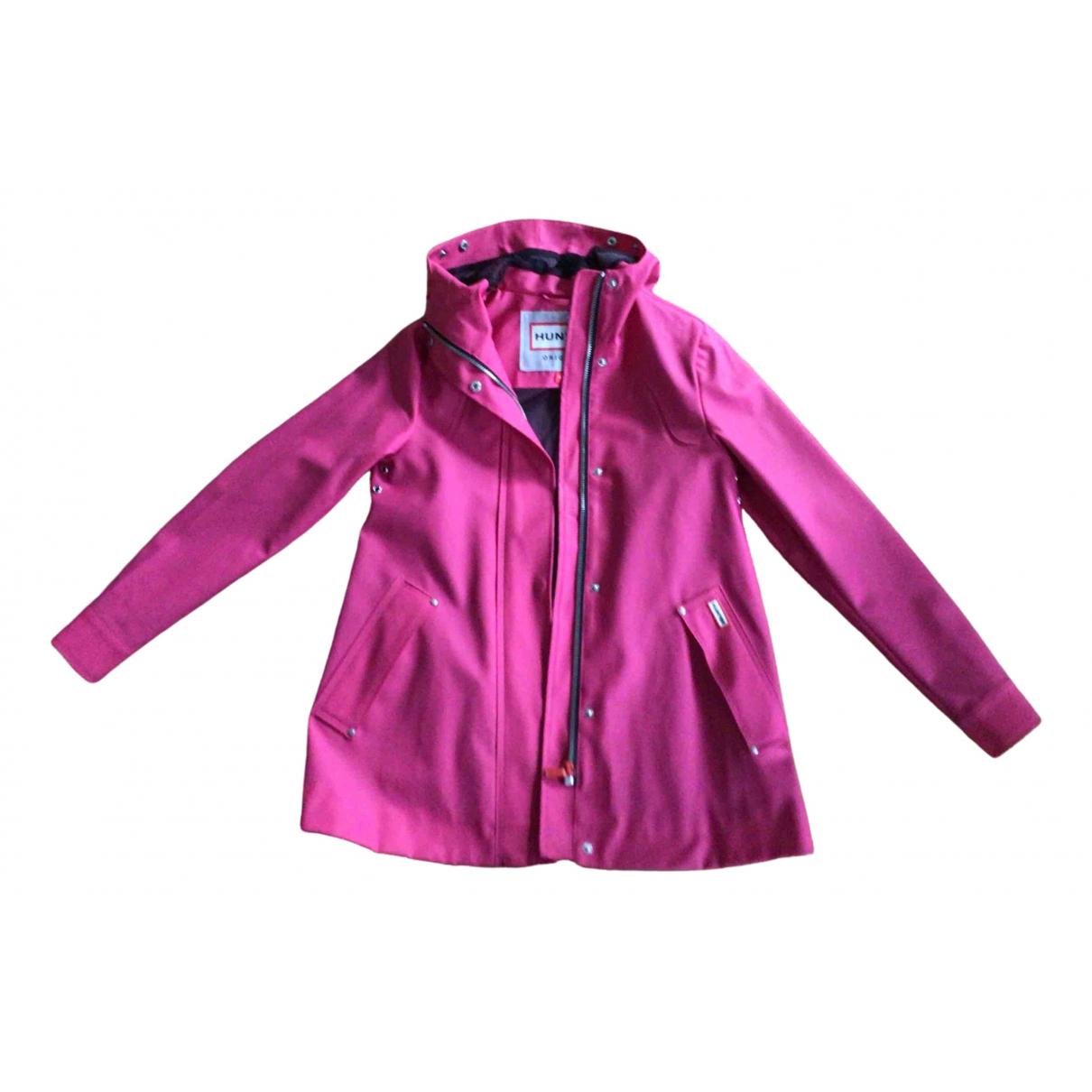 Hunter - Manteau   pour femme - rose