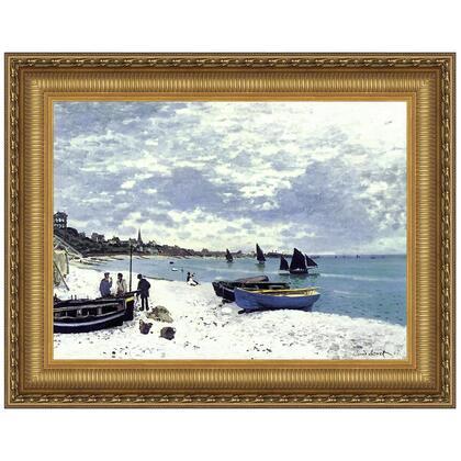 DA3802 29X23.5 Beach At Sainte Adresse