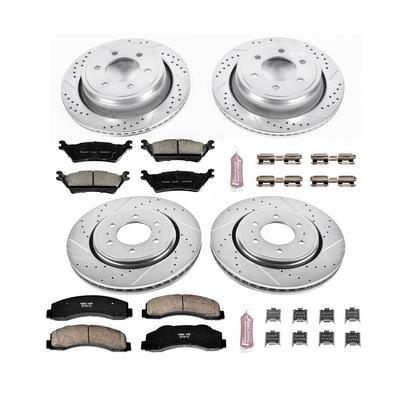 Power Stop Z23 Evolution Sport Performance 1-Click Brake Kit w/ Calipers - KC6268