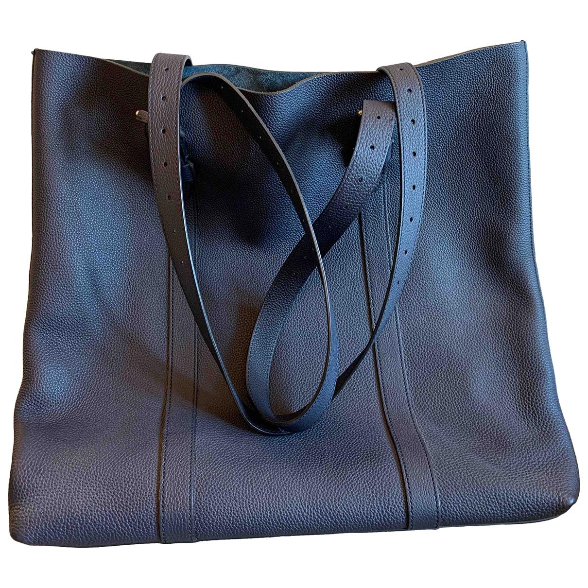 Gucci - Sac   pour homme en cuir - bleu