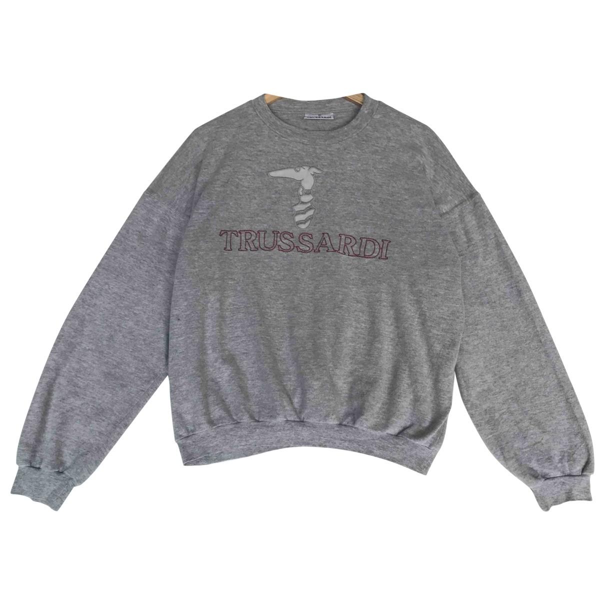 Trussardi \N Grey Cotton Knitwear & Sweatshirts for Men L International