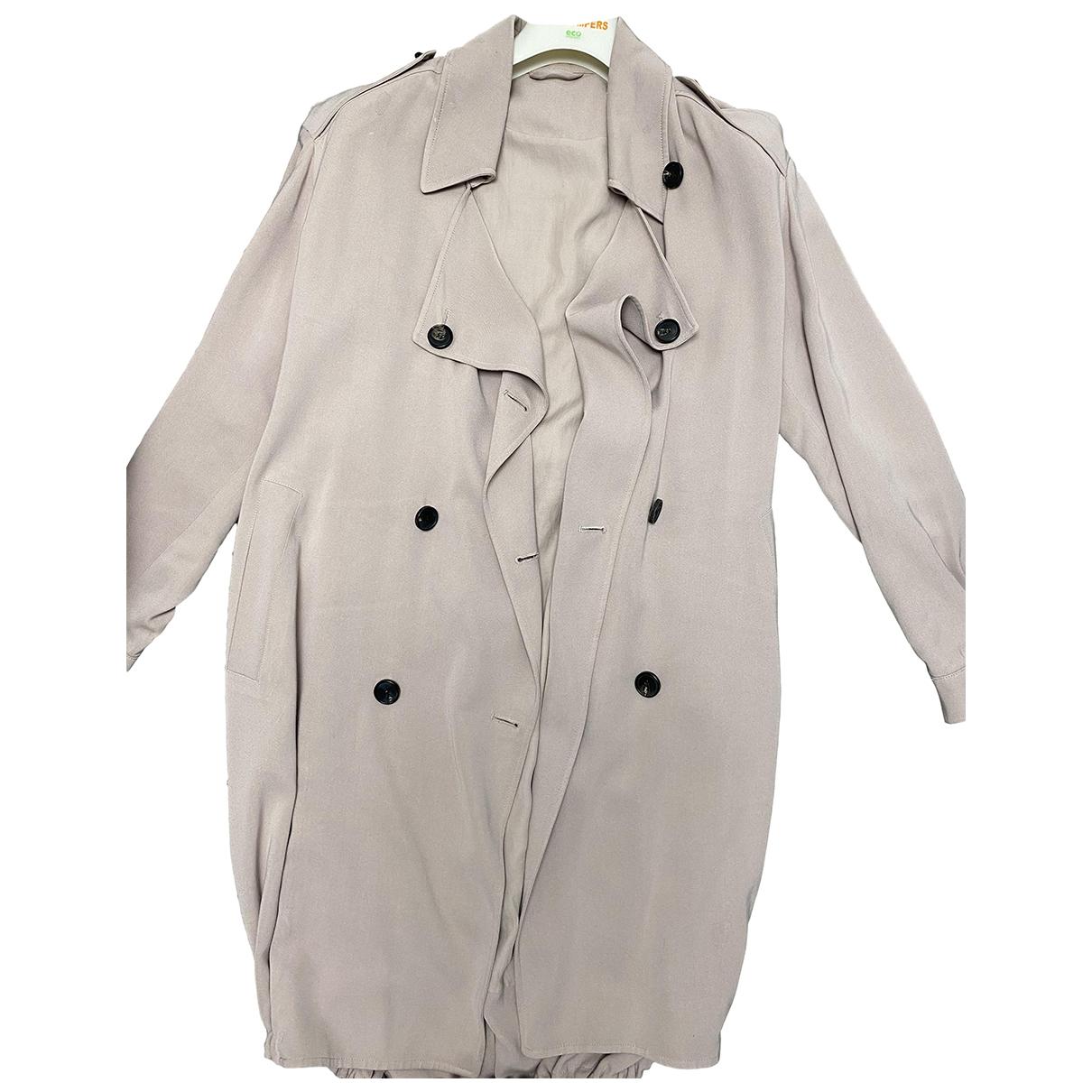 All Saints - Manteau   pour femme - beige