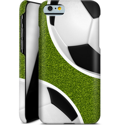 Apple iPhone 6s Smartphone Huelle - Two Footballs von caseable Designs