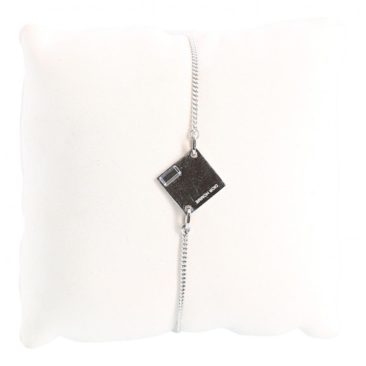 Dior - Bijoux   pour homme en metal - argente