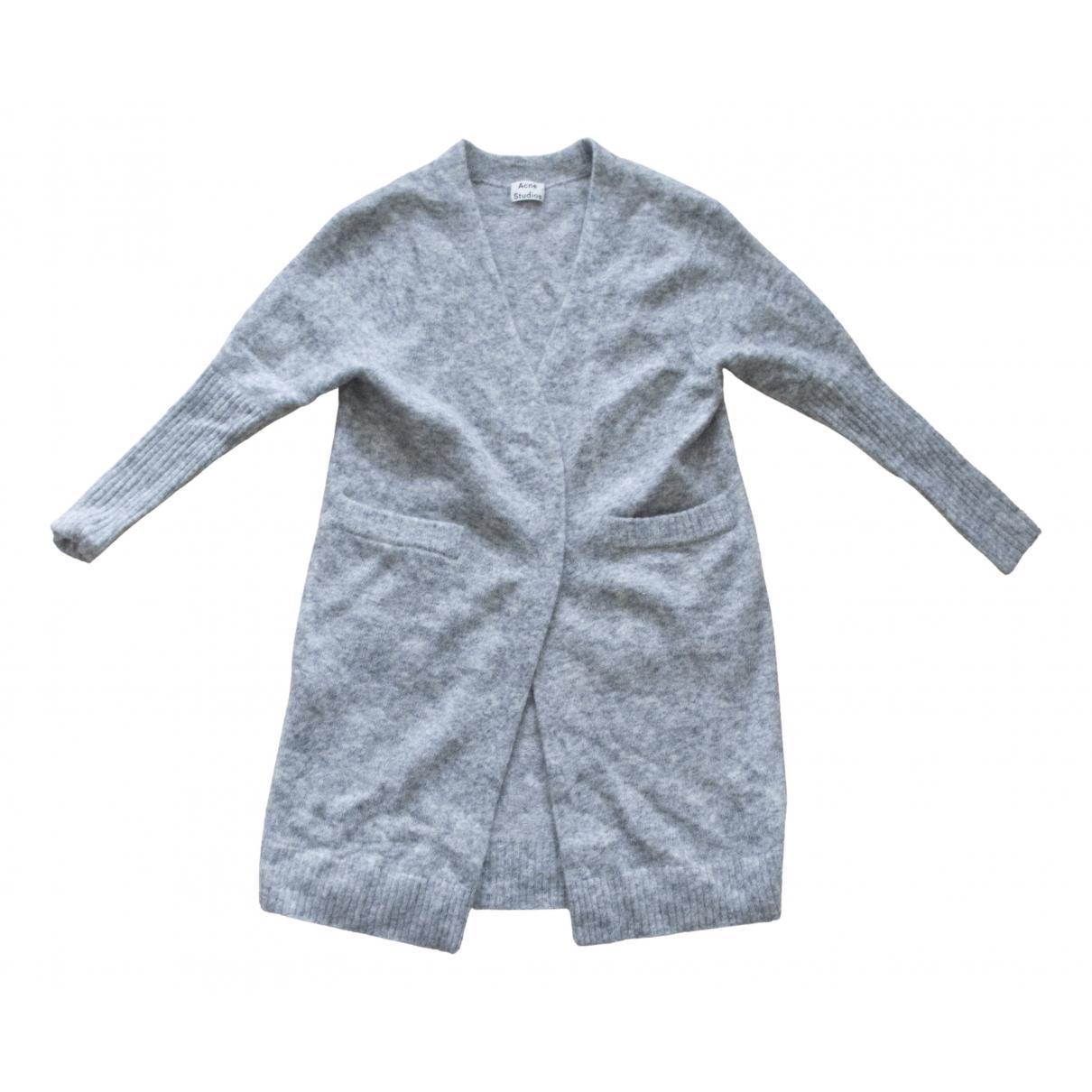 Acne Studios N Grey Wool Knitwear for Women S International